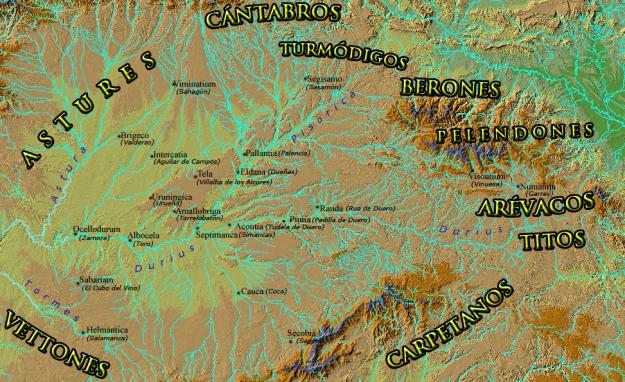 El valle del Duero, ss. III - II a. C.