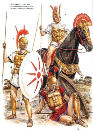 Aliados itálicos (Richard Hook).