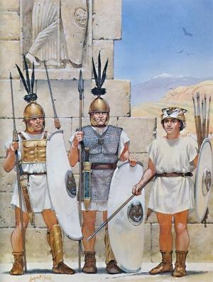 Legionarios en Hispania (Angus McBride).